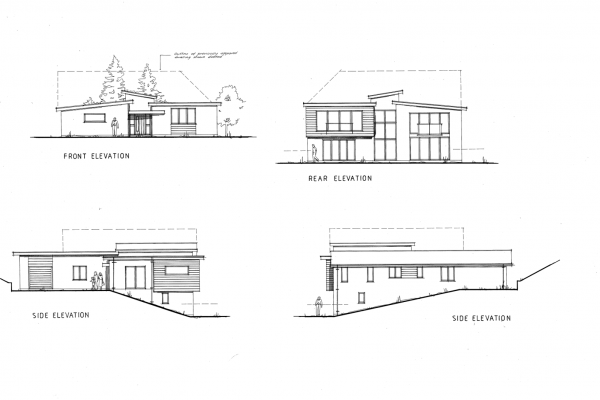 Elevations Of New Dwelling In Bewdley