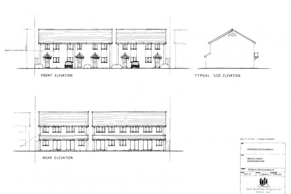 Elevations Of New Dwellings In Kidderminster