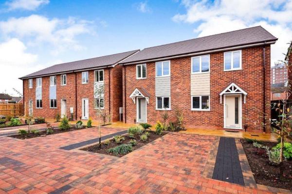 New Dwellings In Kidderminster